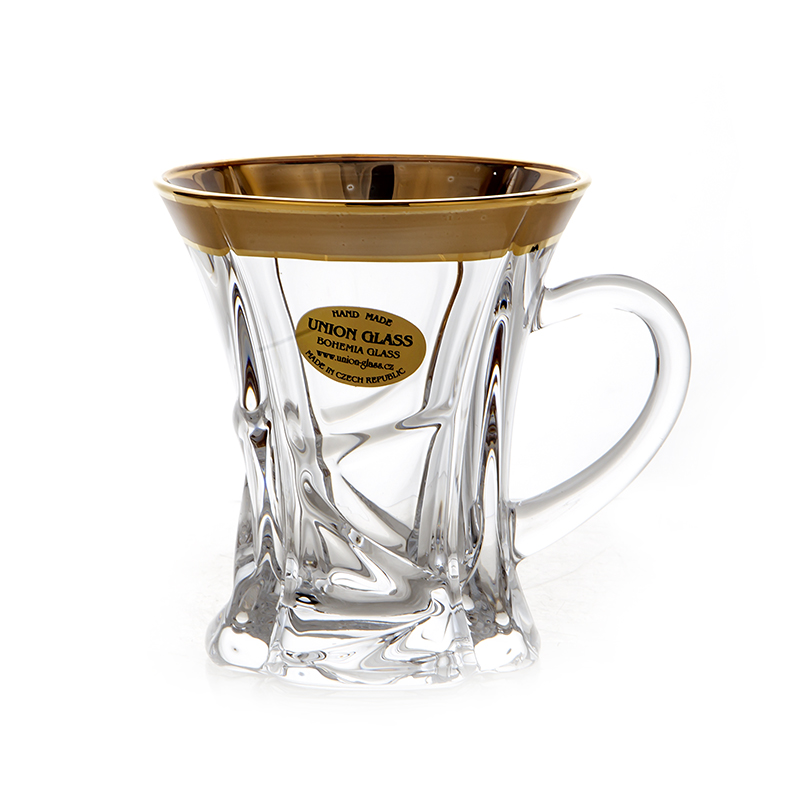 Кристалайт Блестящая Набор для чая Union Glass 90 мл 6 шт.