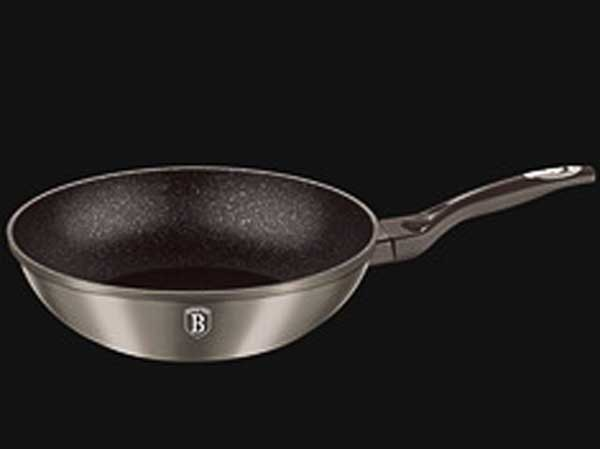 Carbon Metallic Line серый Сковорода-вок Berlinger Haus 28 см