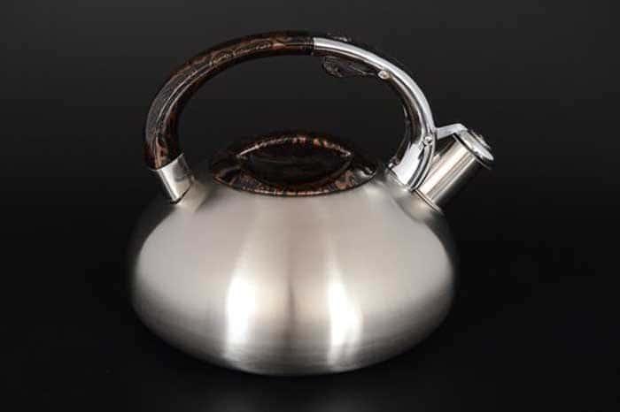 WELLBERG Чайник металлический широкий