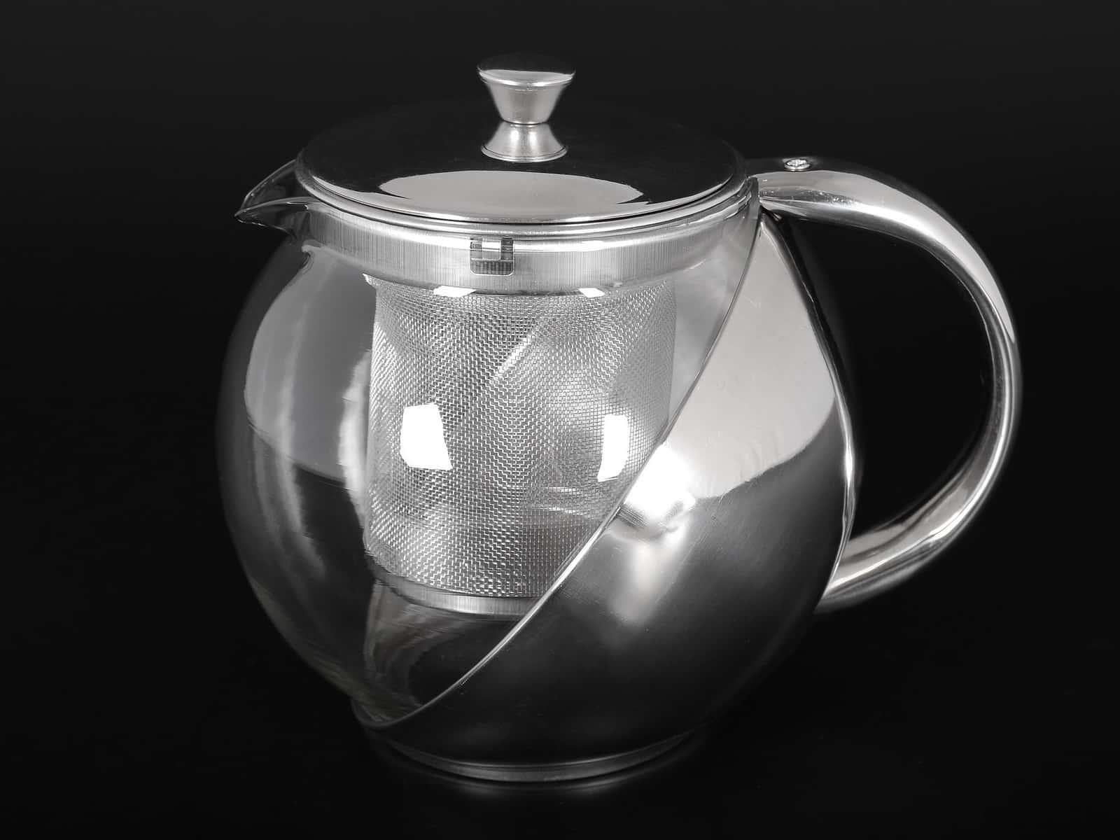 WELLBERG Чайник заварочный металлический с ситом