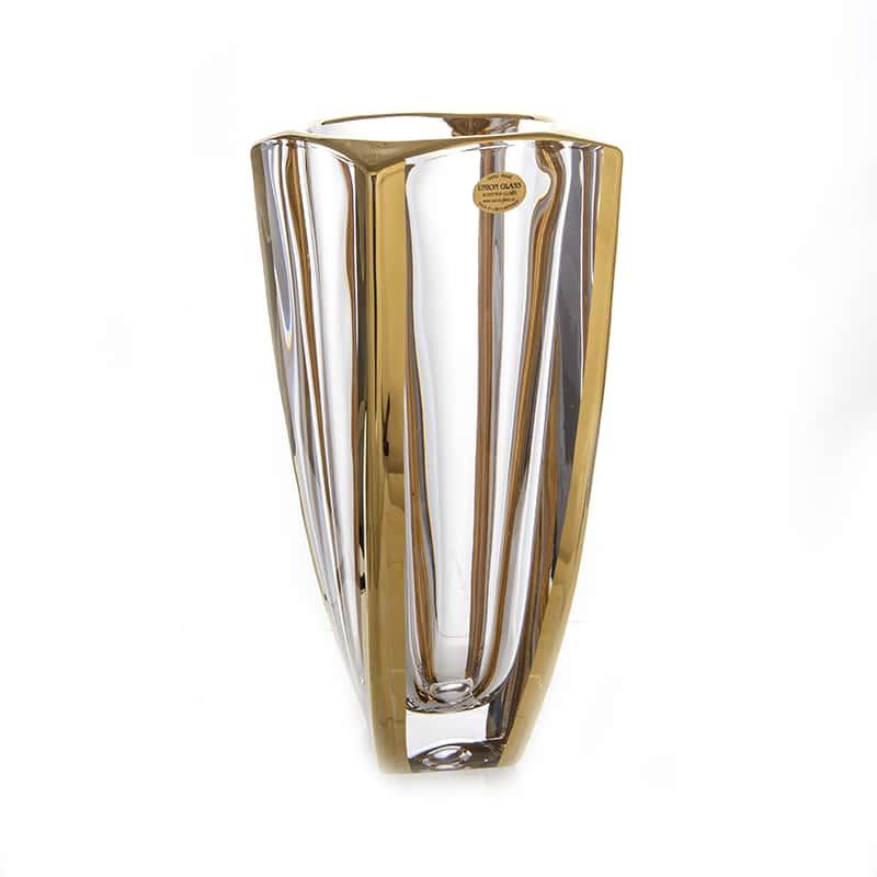 Ареззо блестящая 2 Ваза для цветов Union Glass 28 см