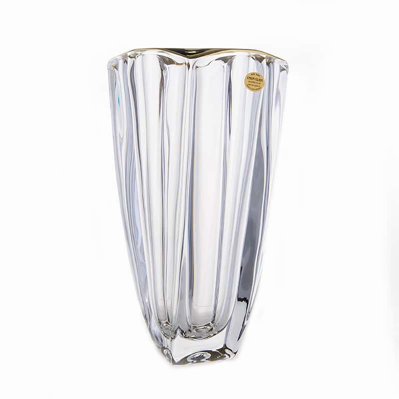 Ареззо блестящая 1 Ваза для цветов 28 см Union Glass