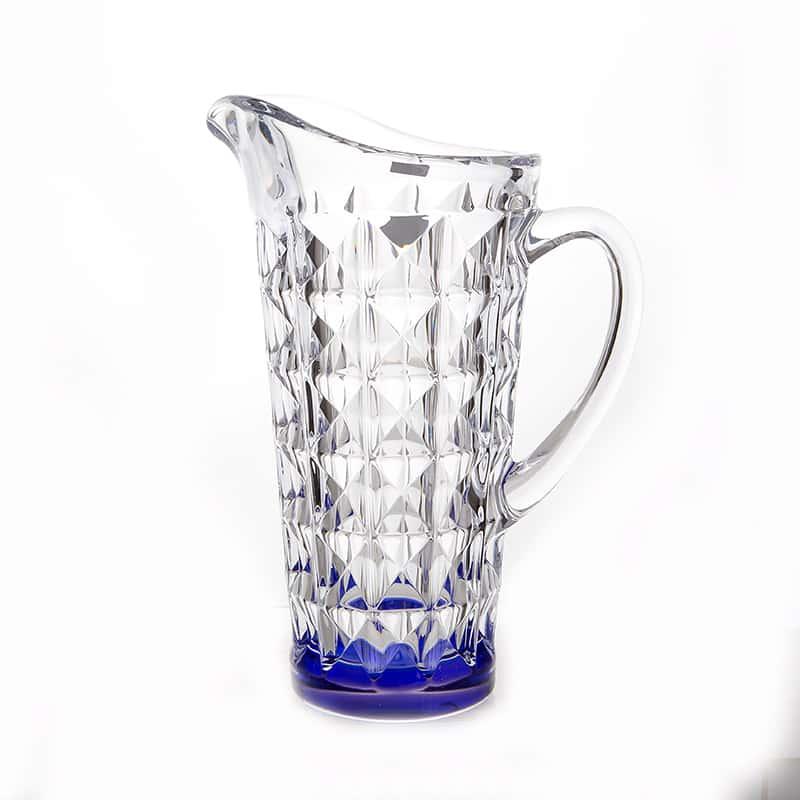 Диамонд синий Кувшин 1,25 л Crystalite Bohemia