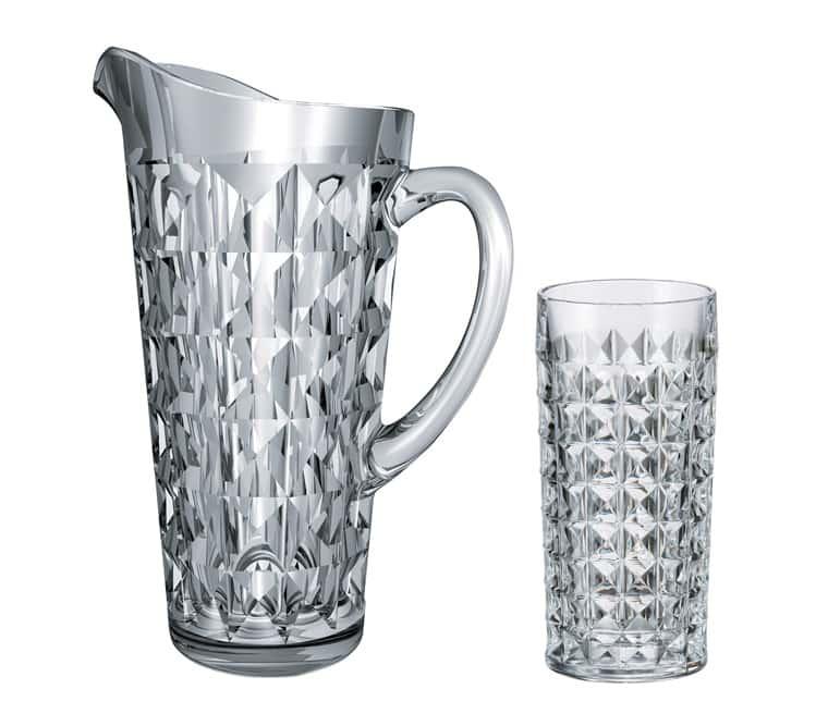 Диамонд Набор для воды на 6 перс. Crystalite Bohemia
