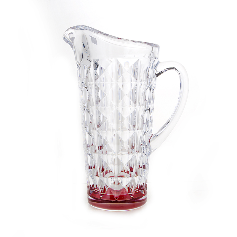 Диамонд красный Кувшин 1,25 л Crystalite Bohemia