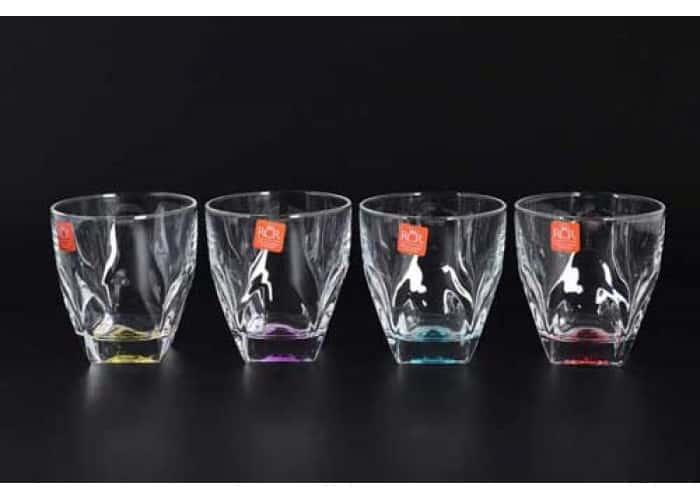 GEMS RCR TRENDS Набор цветных стаканов 4 шт