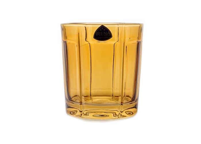 Ирена Гамбург желтый Набор стаканов для виски 300 мл. 6 шт.