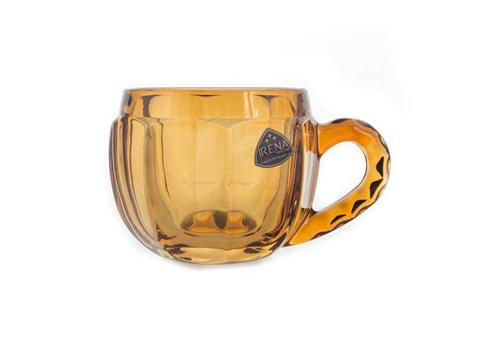 Ирена Гамбург желтый Набор стаканов для чая 175 мл. 6 шт.
