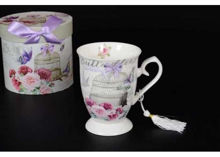 Petit Fleur Набор чайных пар (6 пар) в подарочной упаковке