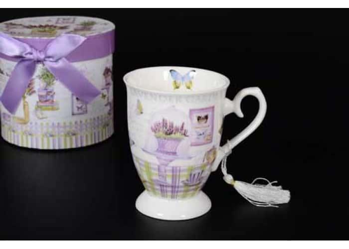 Lavender Garden Кружка в подарочной упаковке