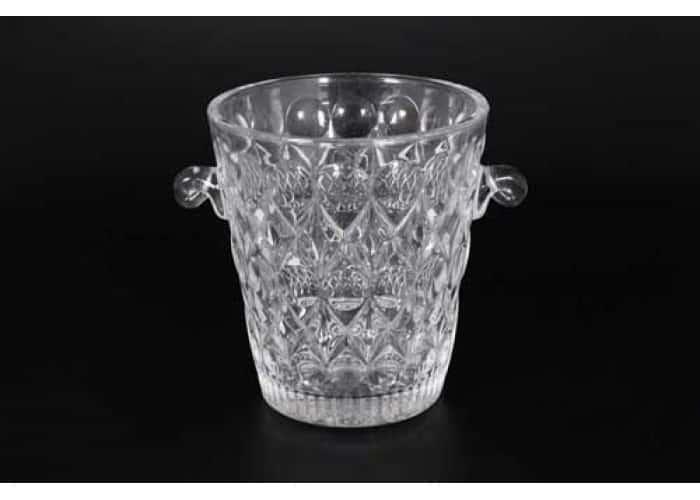 Ведерко для льда 15 см стекло