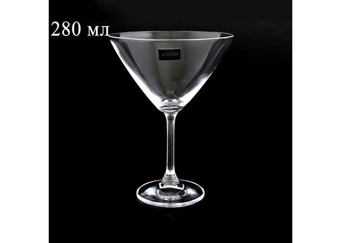 KLARA Фужер для мартини Crystalite Bohemia 280 млKLARA Фужер для мартини Crystalite Bohemia 280 мл