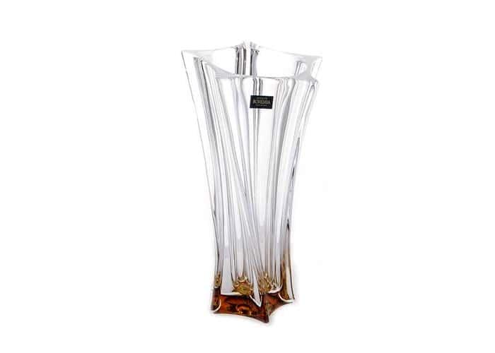 Лабиринт Ваза для цветов Crystalite Bohemia 25,5 см