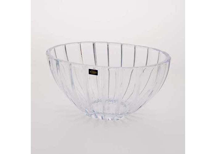 Фрост Розы Амбре Ваза для конфет Crystalite 16,5 см