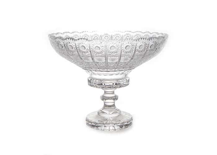 Хрусталь 60550 Ваза для фруктов н/н Glasspo 30,5 см.