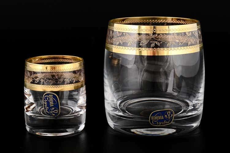 ЛАУРА Набор питьевой Bohemia Crystal 12 предметов