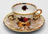 Набор для кофе мокко Роза 12 предметов