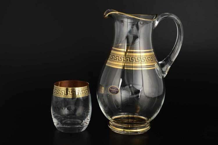 Версаче Набор для воды Balvinglass 7 предметов