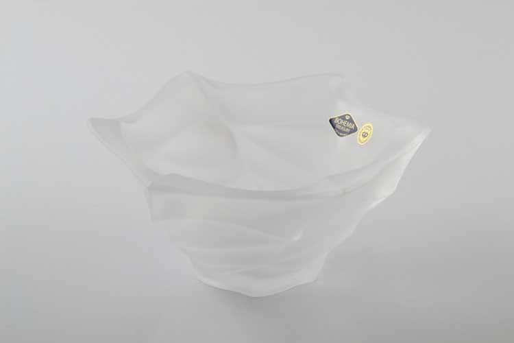 Фламенко матовая Ваза для конфет Bohemia Treasury 20 см