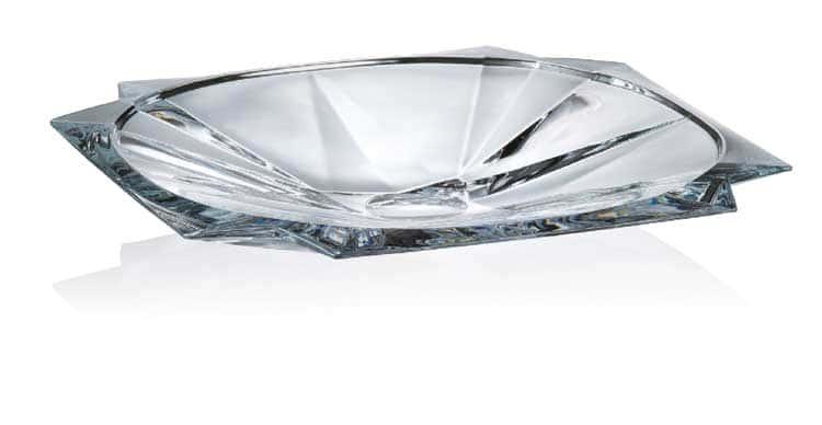 METROPOLITAN Ваза для фруктов Crystalite Bohemia 33 см 22692