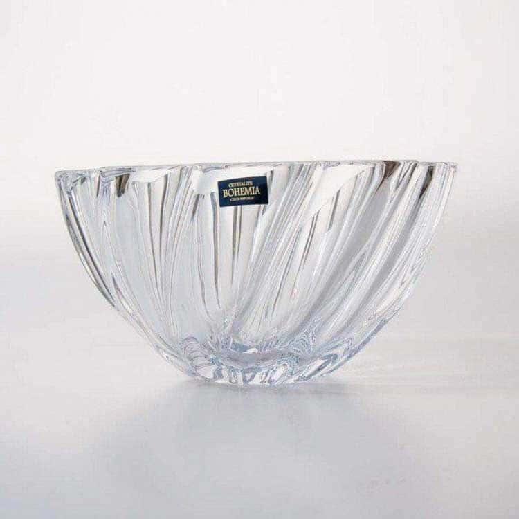 Скаллоп Ваза для конфет 19 cм Crystalite Bohemia