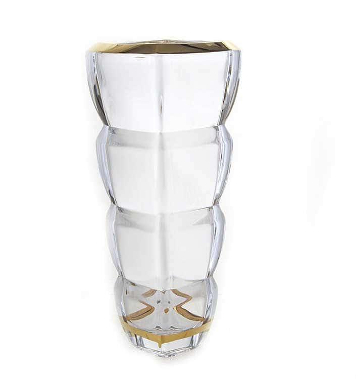 Сегмент Матовая 1 Ваза для цветов Union Glass 28 см.