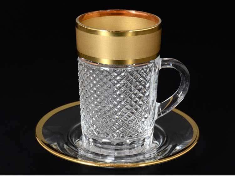 Матовая полоса Набор для чая на 6 персон