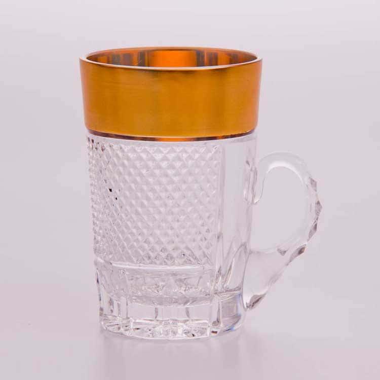 Фелиция Набор кружек для чая Bohemia Brilliant 250 мл