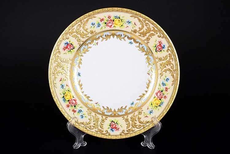 VIENNA CREME GOLD Набор подстановочных тарелок 26,5 см Falkenporzellan