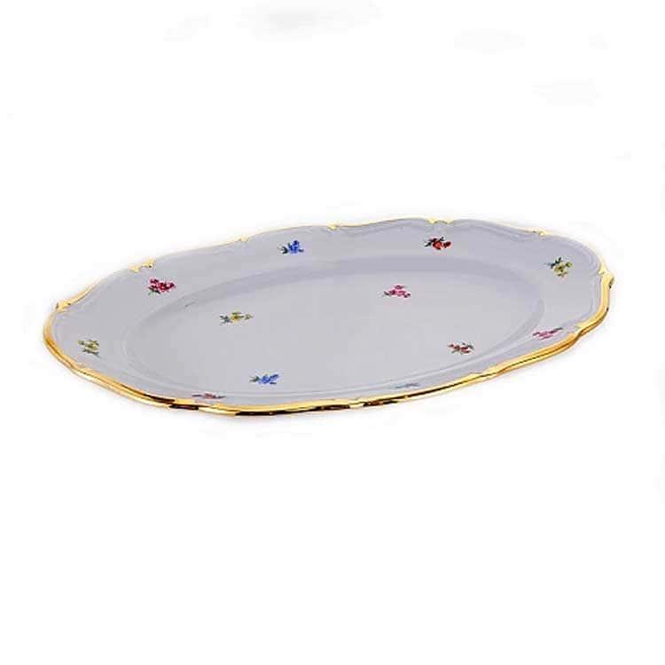 Блумен Блюдо овальное 32 см Bavarian Porcelain