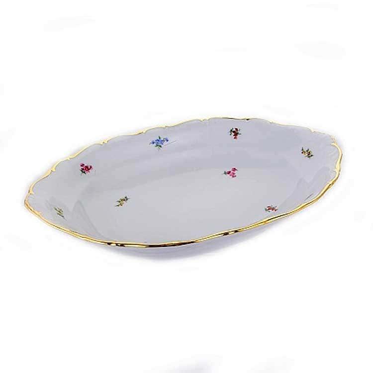 Блумен Хлебница 31 см Bavarian Porcelain