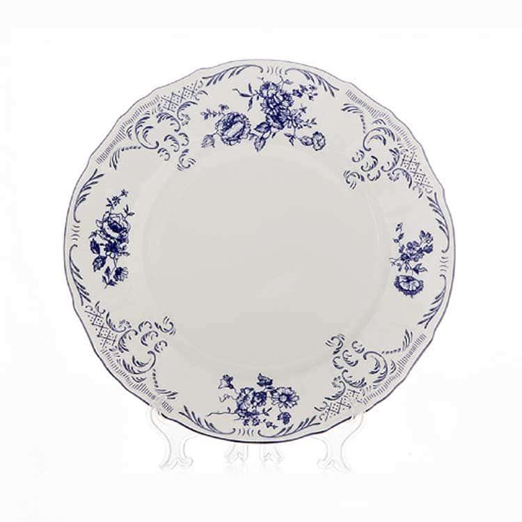 Бернадотт Синий 24074 Блюдо круглое 30 см