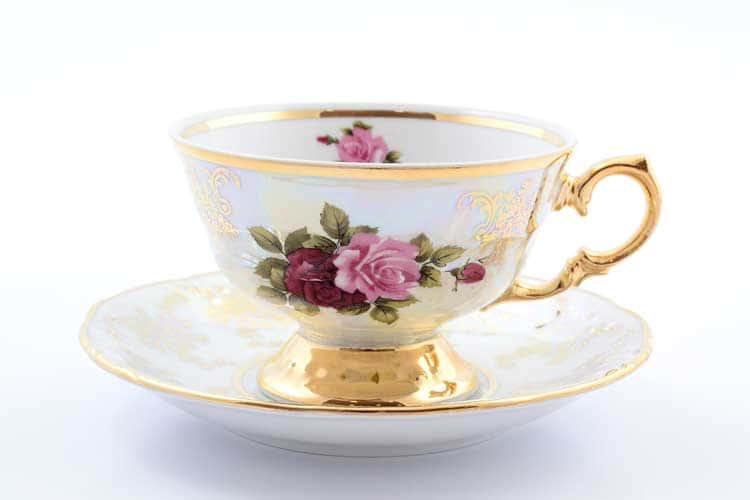 Роза Набор чайных пар Roman Lidicky
