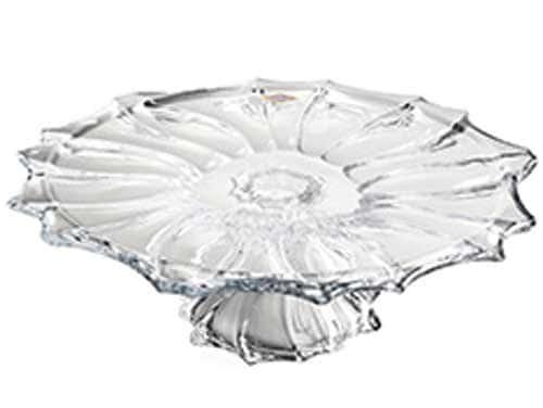 PLANTICA Фруктовница на ножке 35 см Aurum Crystal