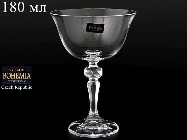 LAURA/FALCO Набор креманок для мартини 180 мл Crystalite Bohemia
