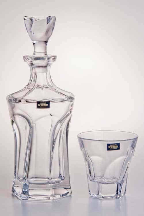 Аполло прозрачный Штоф Crystalite Bohemia 900 мл