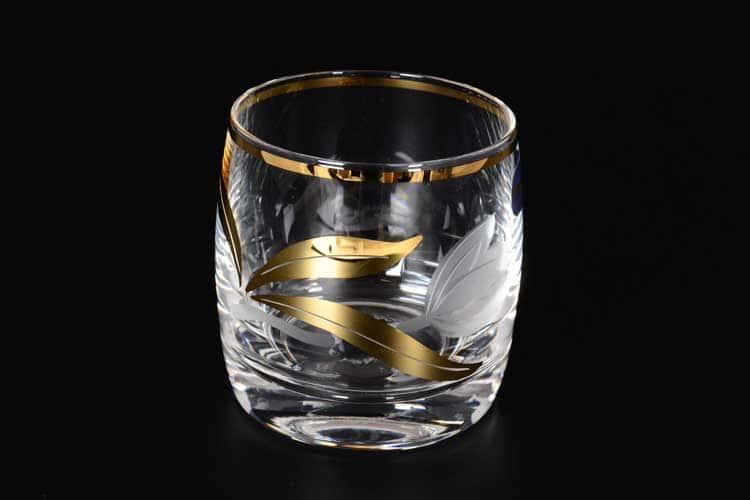 Идеал Матовый тюльпан Набор стаканов для воды Bohemia Crystal 230 мл 6 шт