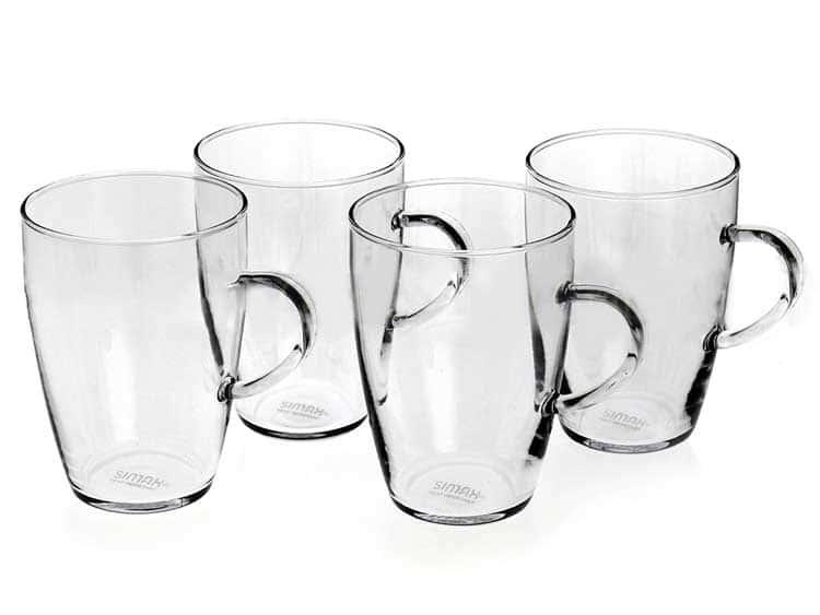 Симакс Набор кружек 4 предмета из стекла