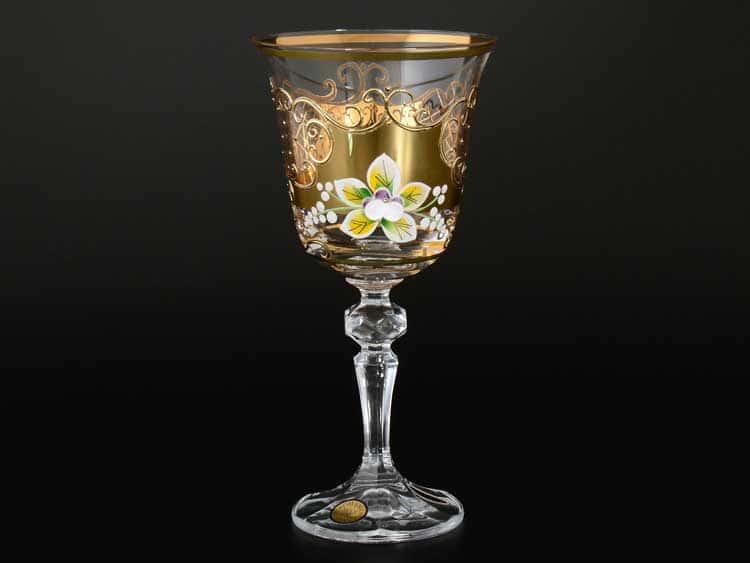 Кристина Star Crystal Кристина Набор бокалов для вина 220 мл (6 шт)