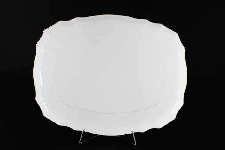 Белый узор Е-М Поднос 36 см Jeremy