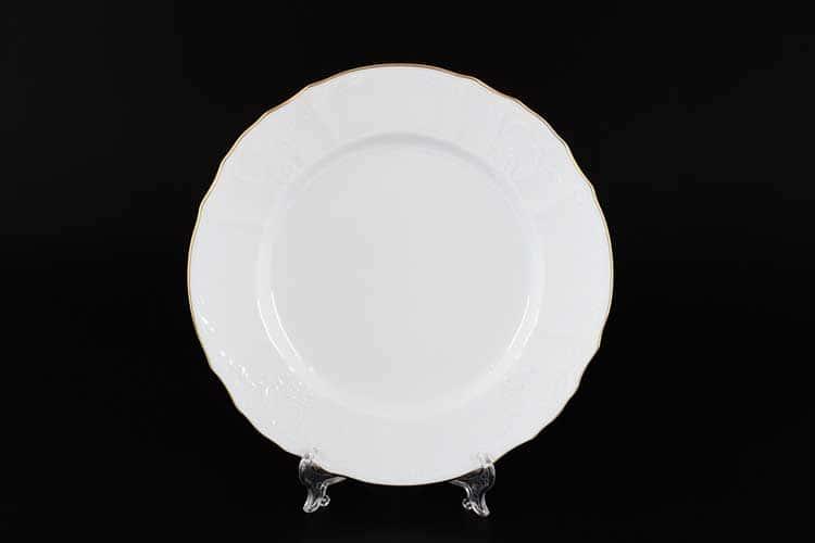Белый узор Е-М Набор тарелок 25 см Jeremy
