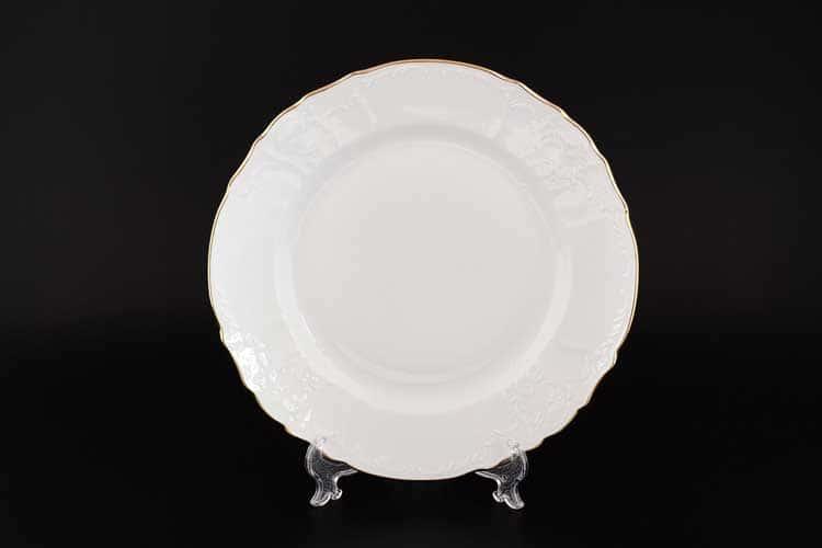 Белый узор Е-М Блюдо круглое 30 см Jeremy