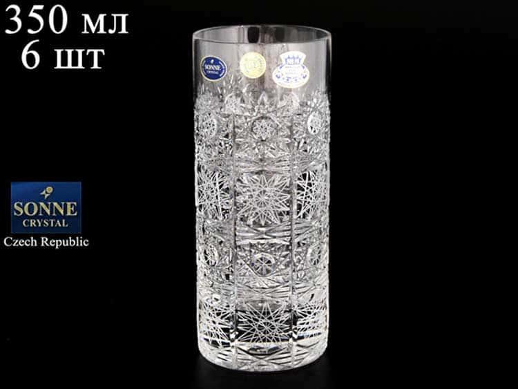 Sonne Crystal Набор стаканов для воды 350 мл