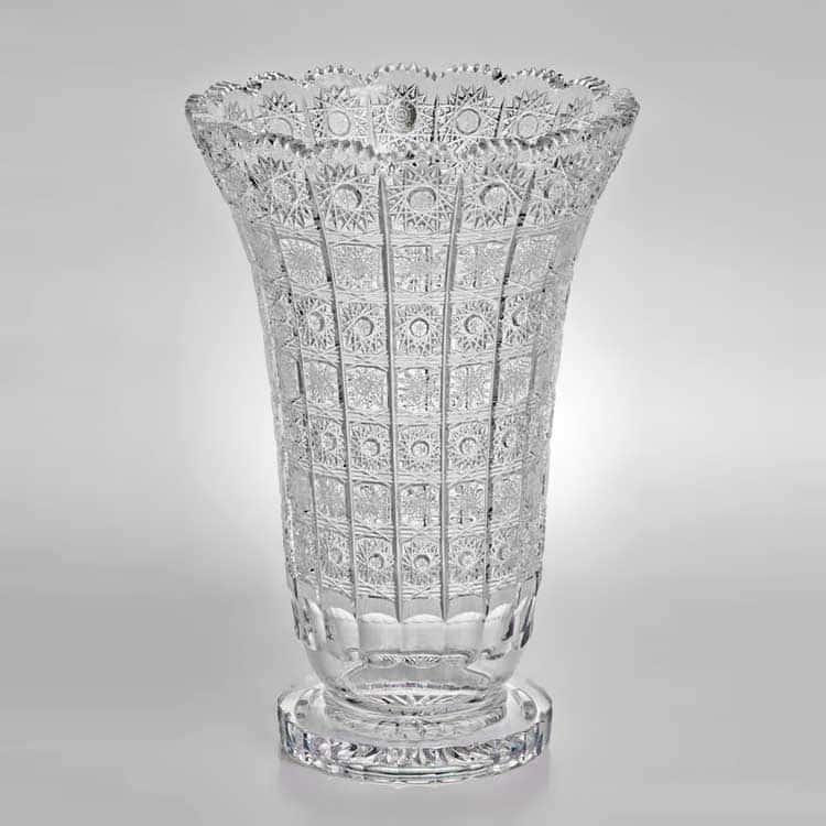 Sonne Crystal Ваза для цветов 40 см на ножке