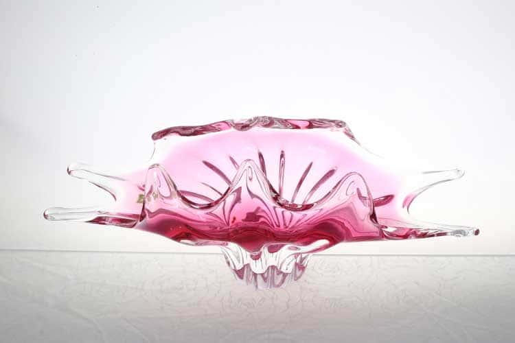 Егерманн розовая Фруктовница 40 см
