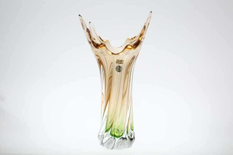 Егерманн желто-зеленая Ваза для цветов 40 см
