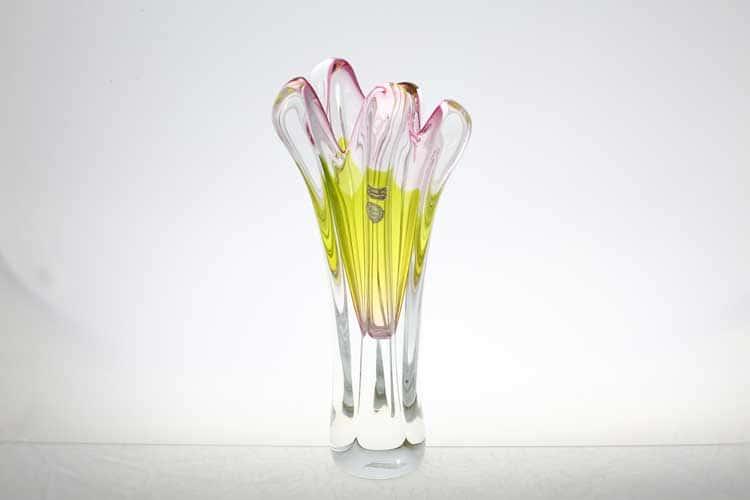 Егерманн салатовая Ваза для цветов 35 см