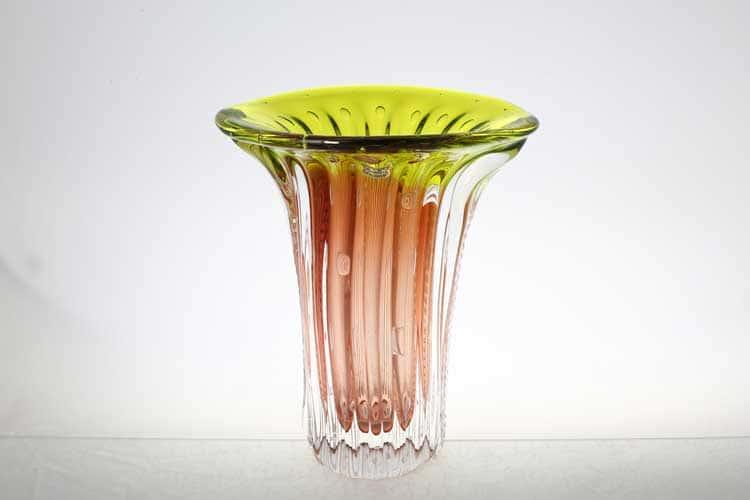 Егерманн медово-зеленая Ваза для цветов 30 см