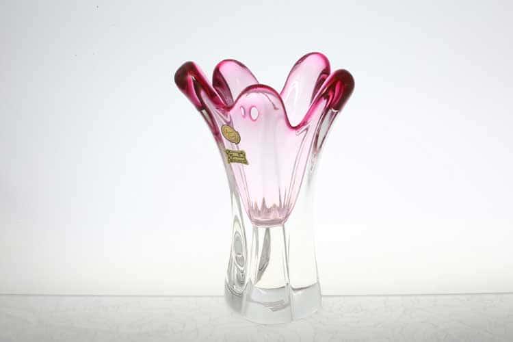 Егерманн розовая Ваза для цветов 20 см