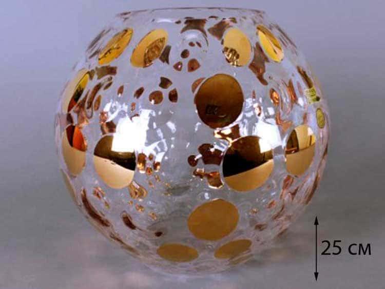 Егерманн спот Ваза для цветов 25 см круглая